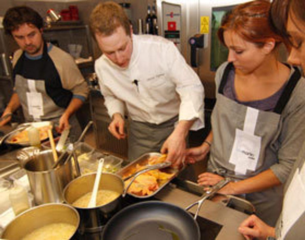 L'atelier Guy Martin une école de cuisine pour les foodistas de la haute gastronomie française.