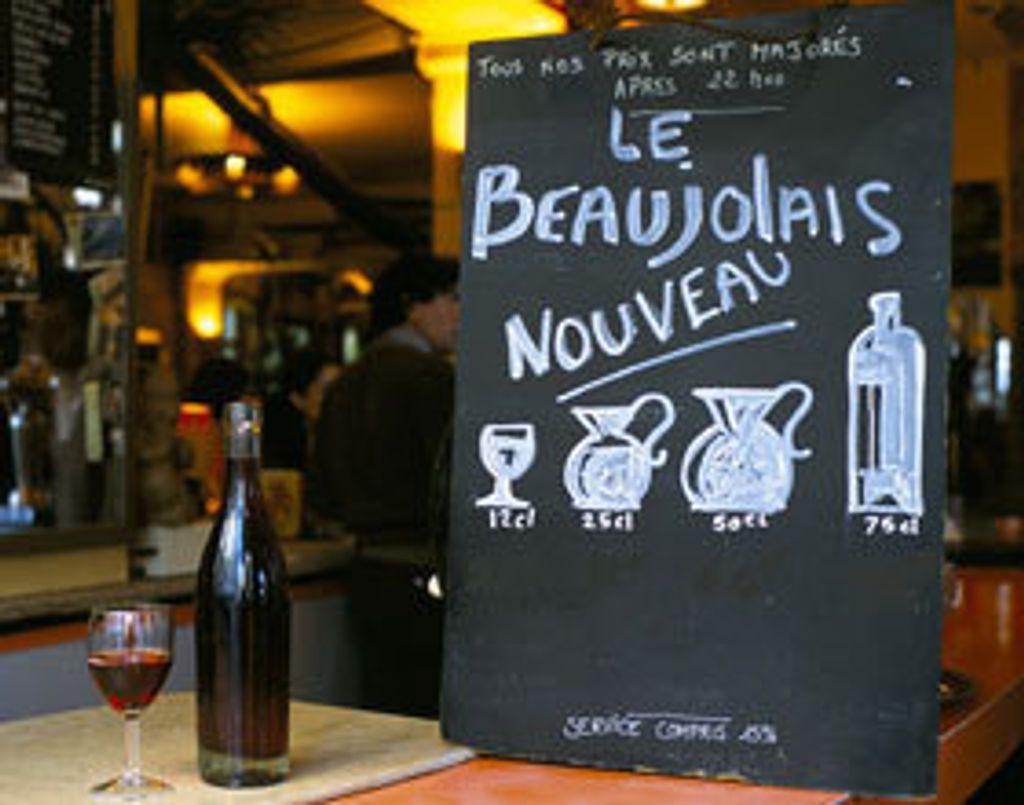 Le Beaujolais nouveau est de retour !