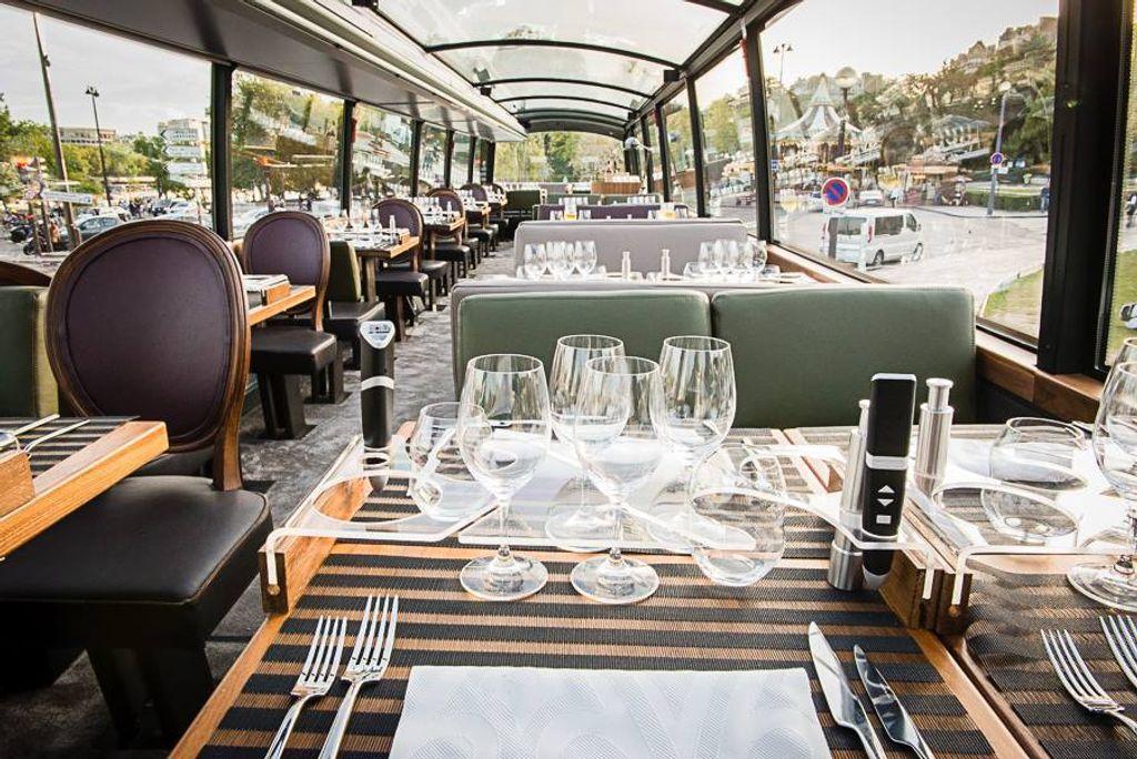 Bustronome, le voyage gourmand à Paris