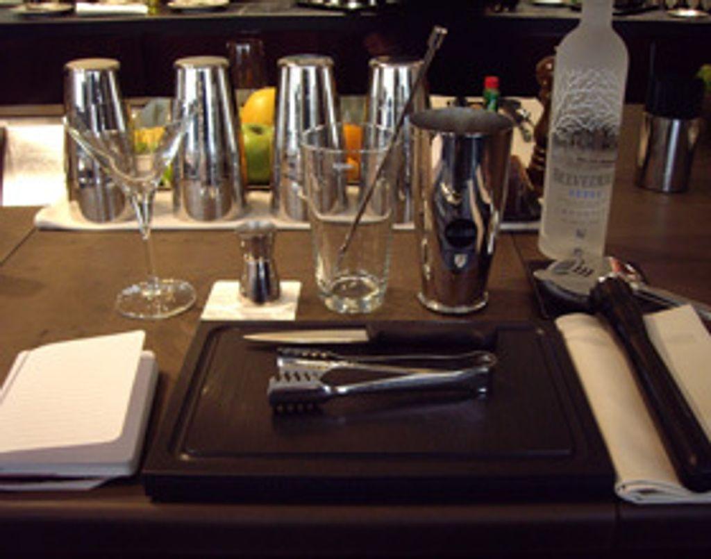 Cours de cocktails au Park Hyatt Vendôme