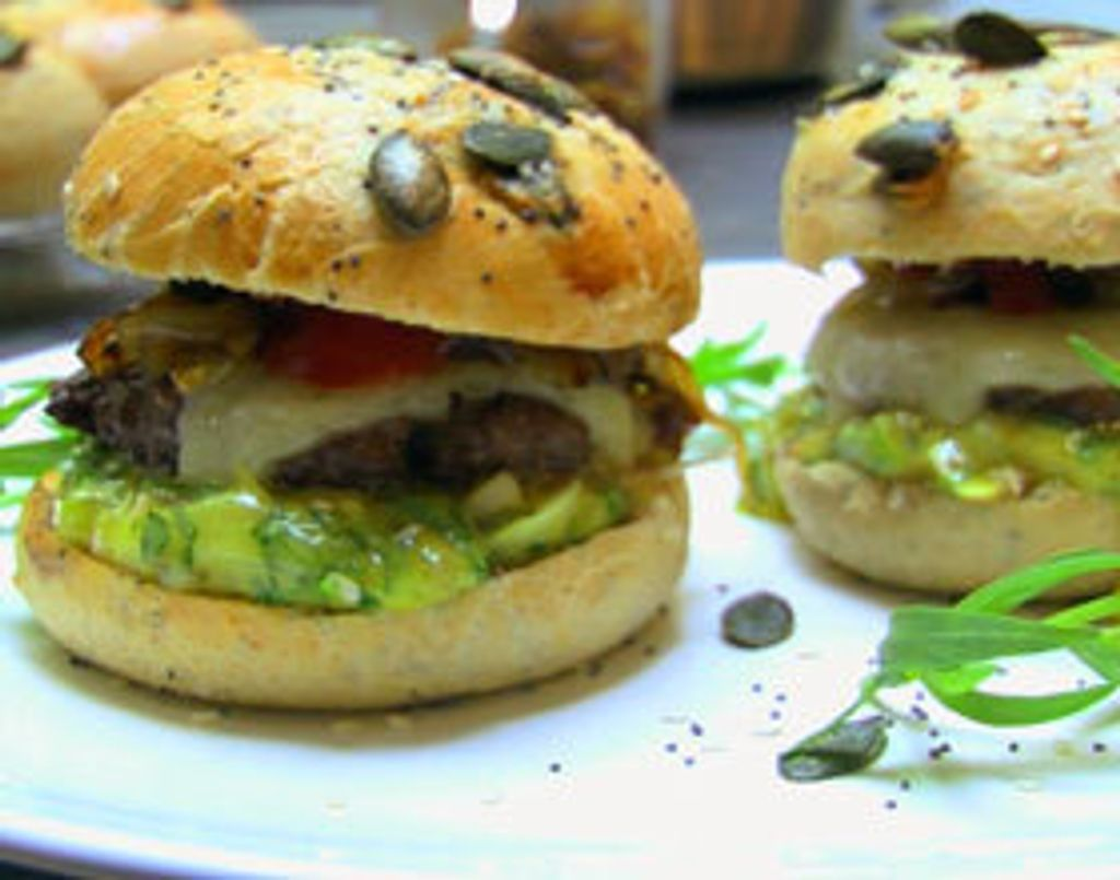 Le burger vu par Brice de Top Chef !