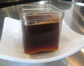 Café frappé vanille noisette