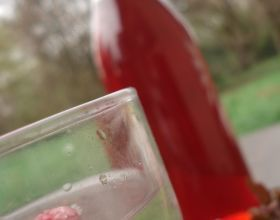 Sirop de vin de framboises