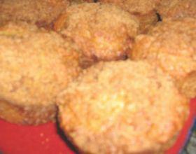 Petits muffins au fromage, au jambon et au maïs