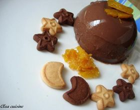 Crème chocolat-gingembre à l'agar-agar