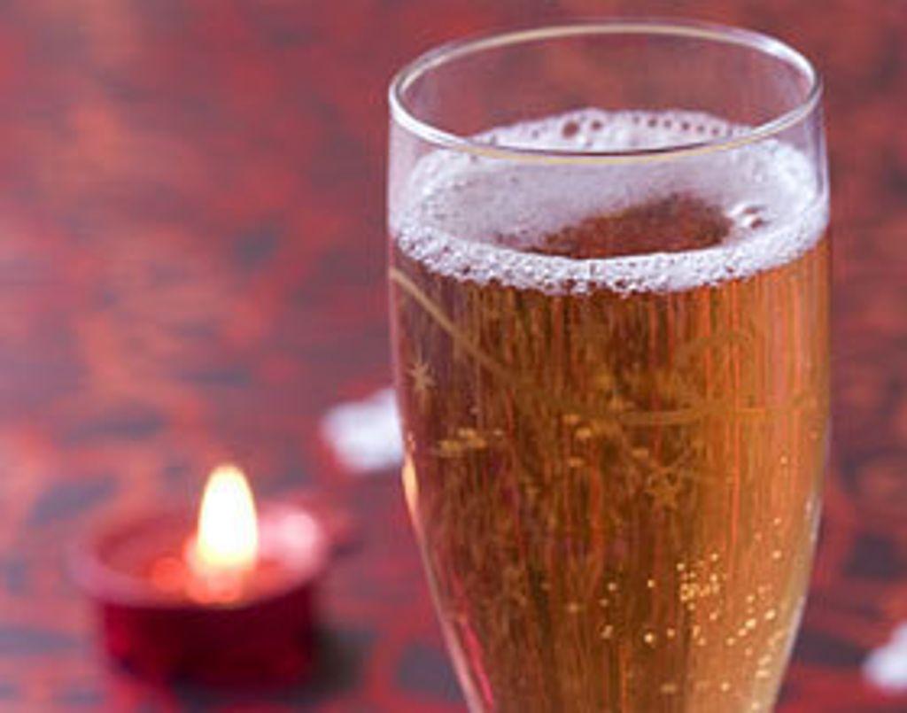 Du champagne... et que ça pétille !