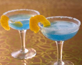Cocktail deep blue
