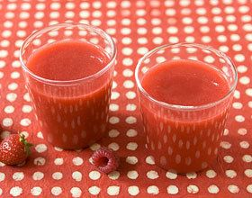 Smoothie tout rouge