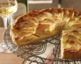 Tarte aux pommes ou Apfelkuchen