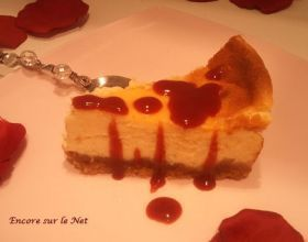 Cheesecake choco blanc