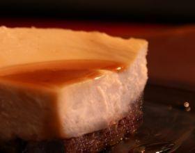 Cheesecake à la cerise et aux amandes