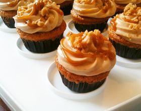 Cupcakes au caramel beurre salé d'Emilie de Masterchef