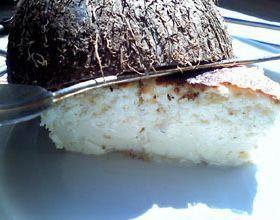 Flan à la noix de coco