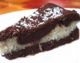 Fondant chocolat au coeur coco