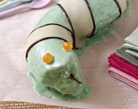 Gâteau d'anniversaire serpent