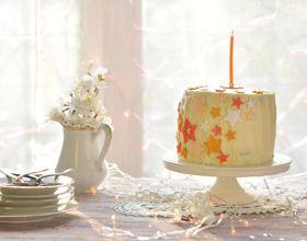 Gâteau d'anniversaire étoilé