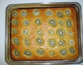Gâteau aux kiwis