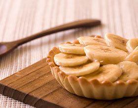 Tartelettes à la banane sans gluten et sans lactose