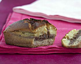 Mini cakes marbrés chocolat vanille