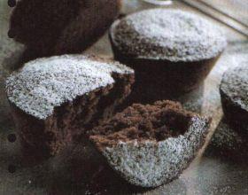 Muffins au chocolat blanc et noir