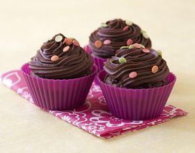 Cupcake au chocolat noir