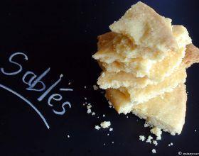 Sablés à la fleur de sel de Guérande