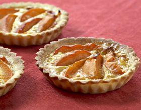 Tartelettes aux abricots et amandes