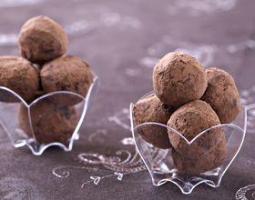 Truffes aux marrons et chocolat
