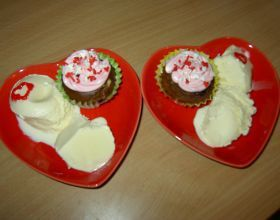Muffin au chocolat et noisette