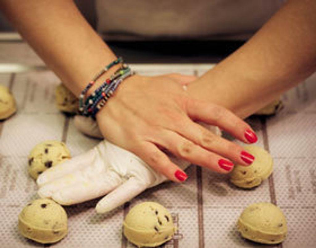 Cookies au chocolat noir Laura Todd