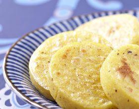 Polenta grillée à la truffe