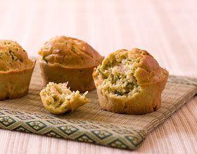 Muffins au saumon sans gluten et sans lactose