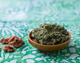 Pesto de roquette aux noix