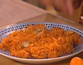 Salade de carottes au jus d'orange