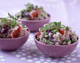 Taboulé de quinoa aux légumes et cerfeuil