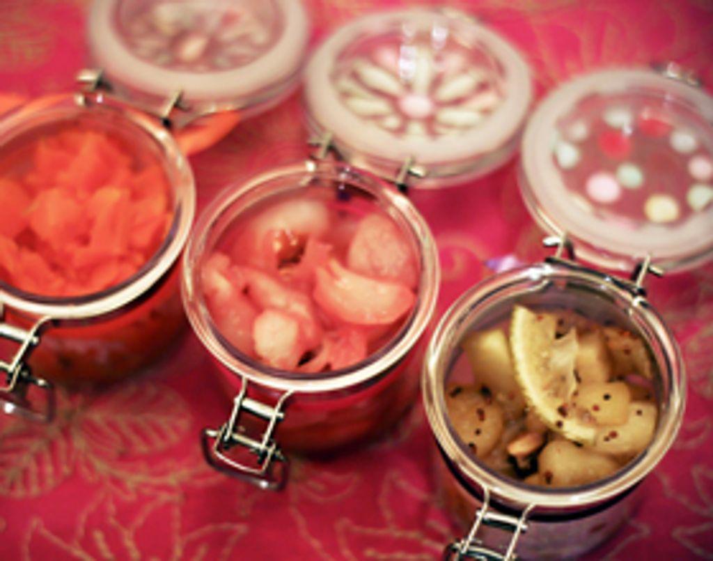 Bollyfood : recettes de chutney, par Sanjee