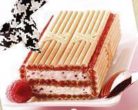 Gâteau de Paille d'Or à la framboise