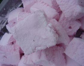 Chamallows à la fraise