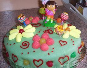 Gâteau figurines