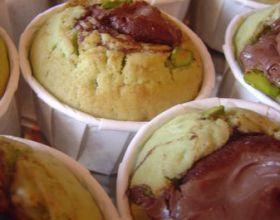 Muffin de la tentation Pistache / Nutella