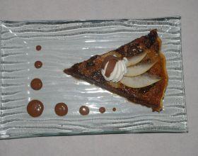 Tarte poires / chocolat