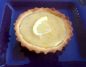 Tartelettes au citron et aux amandes