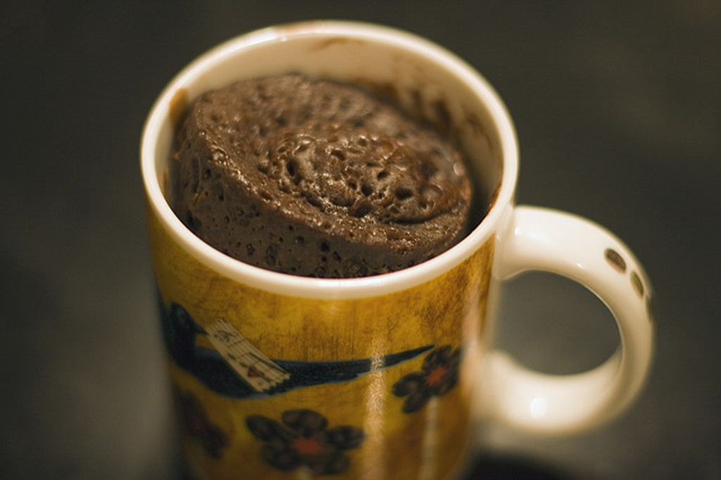Mug Cake : un gâteau au chocolat en 5 minutes chrono