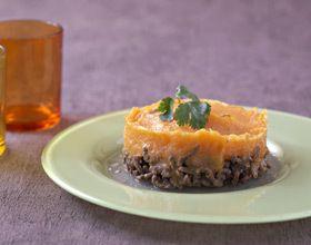Hachis Parmentier bœuf carottes