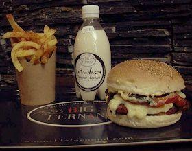 La recette du Burger Philibert de Big Fernand !