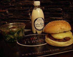 La recette du burger Big Fernand !