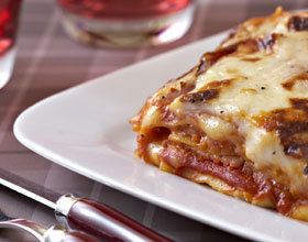 Lasagnes jambon raclette