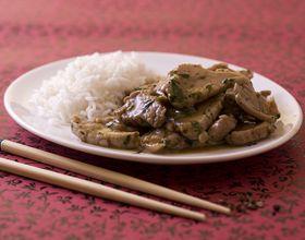 Wok de porc au poivre de Seychouan