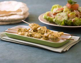 Brochettes de poulet mariné Chich Taouk