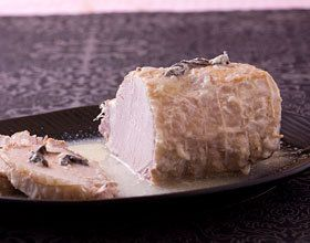 Rôti de porc au lait et à la sauge